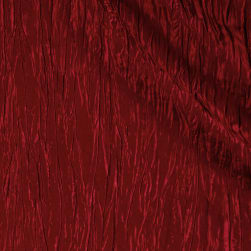 Creased Taffeta Cherry Fabric