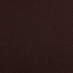 Gabardine Suiting Solid Brown Fabric