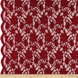 Chantilly Lace Double Boarder Garnet