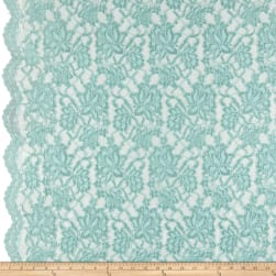 Chantilly Lace Double Boarder Foam Fabric