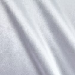 Royal Velvet White Fabric