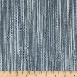 Ralph Lauren Home LCF68395F Deon Weave Stripe Yarn Dyed Denim