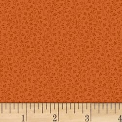 Mary Koval Colorwall Mini Vine Ginger Fabric