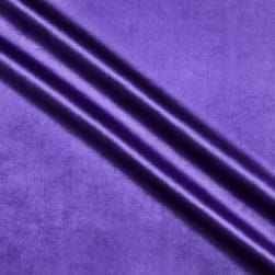 Royal Velvet Purple Fabric
