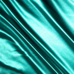 Heavy Crepe Back Satin Jade Fabric