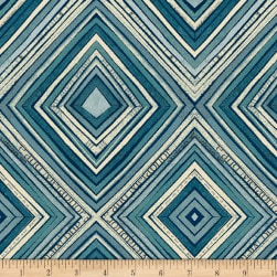 Carrie Bloomston Wonder Zig Zag Navy