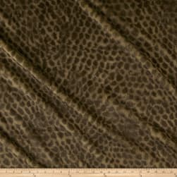 Paws Faux Fur Brown Fabric