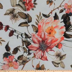 Preview Textiles Fall Flower Print Sheer Chiffon Floral