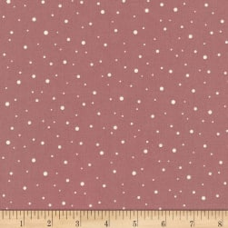 Kaufman Arctic Abstract Dots Mauve