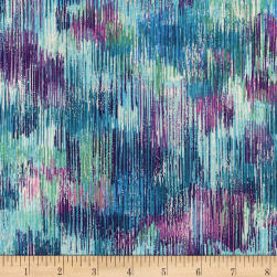 Kaufman Fusions Brushwork Jewel Fabric