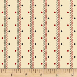 Judie Rothermel Scrappier Dots Dots and Stripes Cream