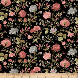 Faye Burgos Impromptu Mix Field Flowers Black
