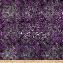 Kim Eichler-Messmer Imbue Batiks Tossed Seed Purple Fabric