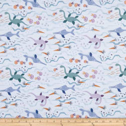 Lewis & Irene Kimmeridge Bay Jurassic Seas Blue