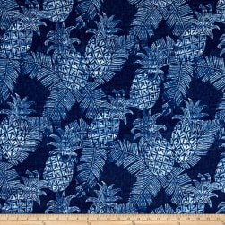 Tommy Bahama Outdoor Carate Batik Azul Fabric