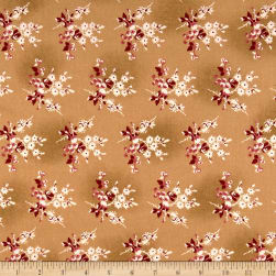 Andover Little Sweethearts Fresh Berries Biscuit Fabric