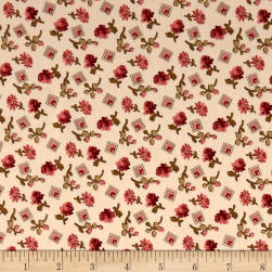 Andover Little Sweethearts Something Borrowed Shortbread Fabric