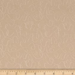 Andover Scribbles Bisque Fabric