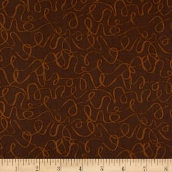 Andover Scribbles Sienna Fabric