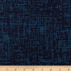 Andover Top Drawer Thatch Navy Fabric
