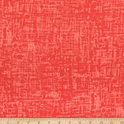 Andover Top Drawer Thatch Coral Fabric