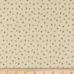 Andover Nicholson Street Diamond Tacks Pink/Cream Fabric