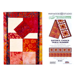 Maywood Studio Mango Tango Batiks Sister's Choice Table