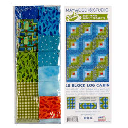 Maywood Studio Pods Quilter's Road Trip 12 Block
