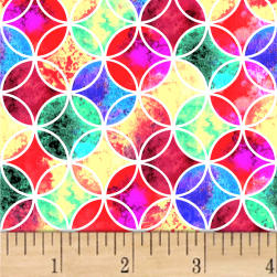 Fantasy Geo Clover Digital Multi Fabric