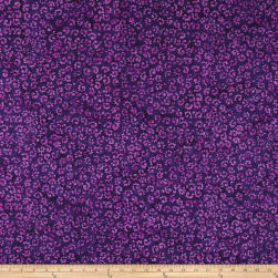 Wilmington Batiks Whimsical Curls Dark Purple Fabric
