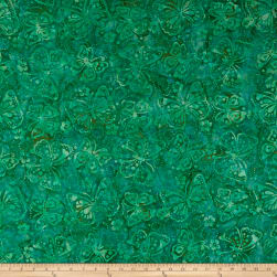Wilmington Batiks Butterflies Teal Fabric