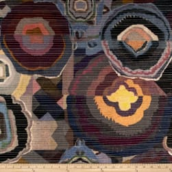 Springs Creative Patch Quilt Chenille Plum Fabric