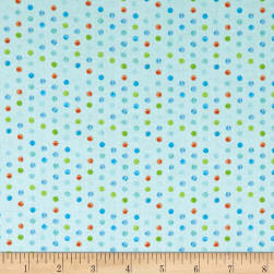 Wilmington Sparkle Magic Shine Dots Teal Fabric