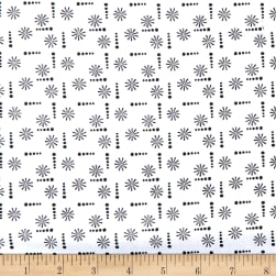 Wilmington Sunny Days Ditzy White Fabric
