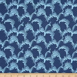 Wilmington Barcolage Plumes Navy