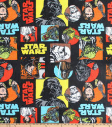 Star Wars Characters Fleece Multi Fabric