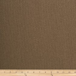 Crypton Home Johnstone Herringbone Clay Fabric