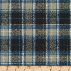 Kaufman Mammoth Flannel Plaid Storm
