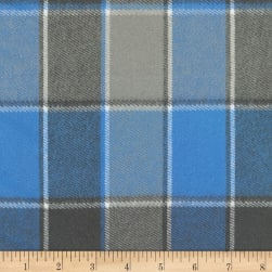 Kaufman Durango Flannel Plaid Cornflower Fabric