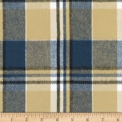 Kaufman Durango Flannel Plaid Maize