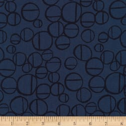 Kaufman Forage Linen Blend Midnight Fabric