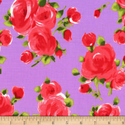 Charming by Gertie Valentina Lavender Fabric