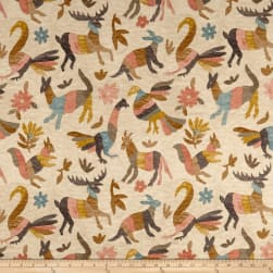 Waverly Marimba Duck Mineral Fabric