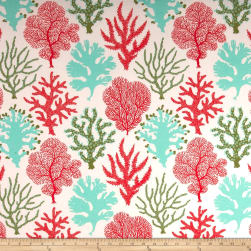 PKL Studio Indoor/Outdoor Coral Study Carib Fabric