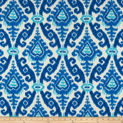 PKL Studio Indoor/Outdoor East Indies Cobalt Fabric