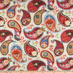 PKL Studio Indoor/Outdoor Fiesta Dance Fruit Punch Fabric