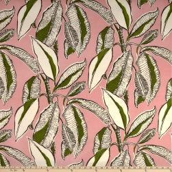 PKL Studio Indoor/Outdoor Jungle Jive Flamingo Fabric