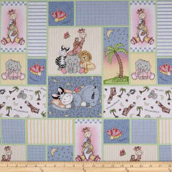 Springs Creative Bazooples Patches Allover Blue