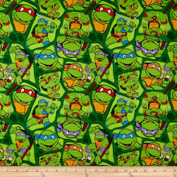 Nickelodeon TMNT Retro Cotton Heroes In A Half