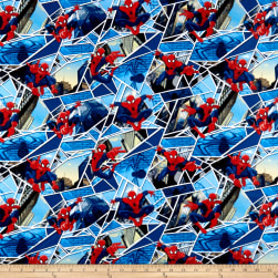 Marvel Spiderman Spiderman Panes Blue